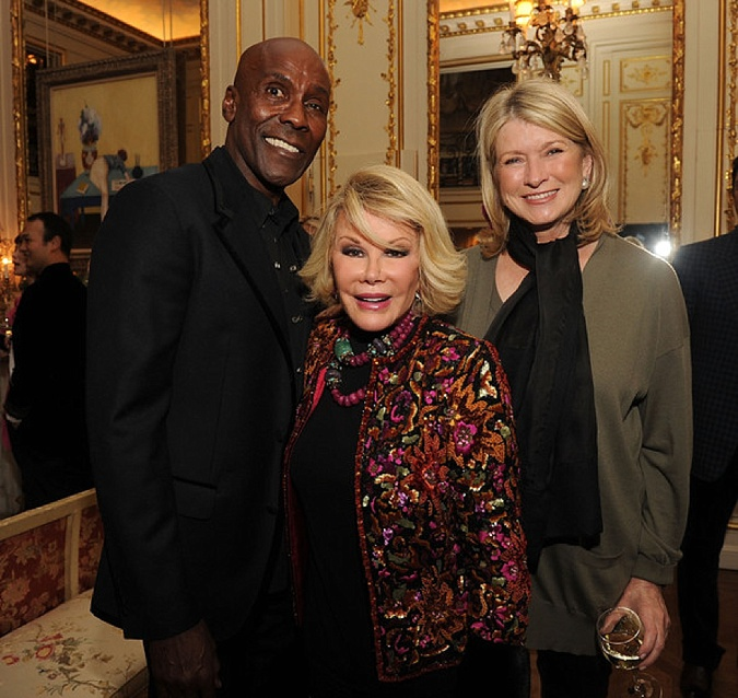 Preston Bailey, Joan Rivers, Martha Stewart