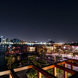 Doors Restaurant at al Seef View over the Dubai Creek