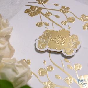 Wedding invitations by Sara Kay Graphic Design in Dubai