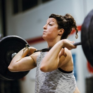 Woman Training at Crossfit Alioth Dubai