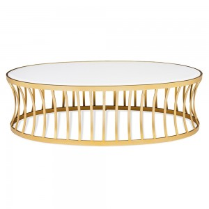 Stylish round table from Specstyles furniture rentals in Dubai