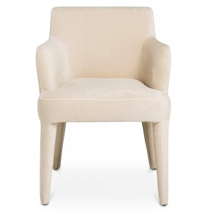 Creme chair from Specstyles furniture rentals in Dubai