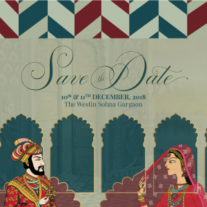 Save the date invitation created by Design tuk tuk in Dubai