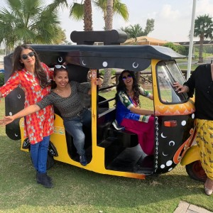 Tuk Tuk (Auto rickshaw) for events created by Design Tuk Tuk in Dubai
