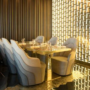 Doors Restaurant at al Seef Dubai Interior private room