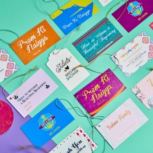 Pretty Label Tags created by Design Tuk Tuk in Dubai