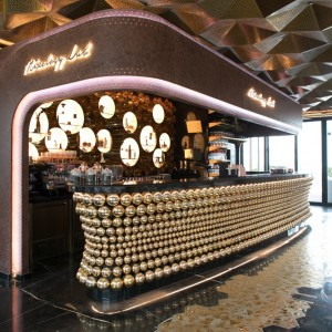 Doors Restaurant at al Seef Dubai bar shot