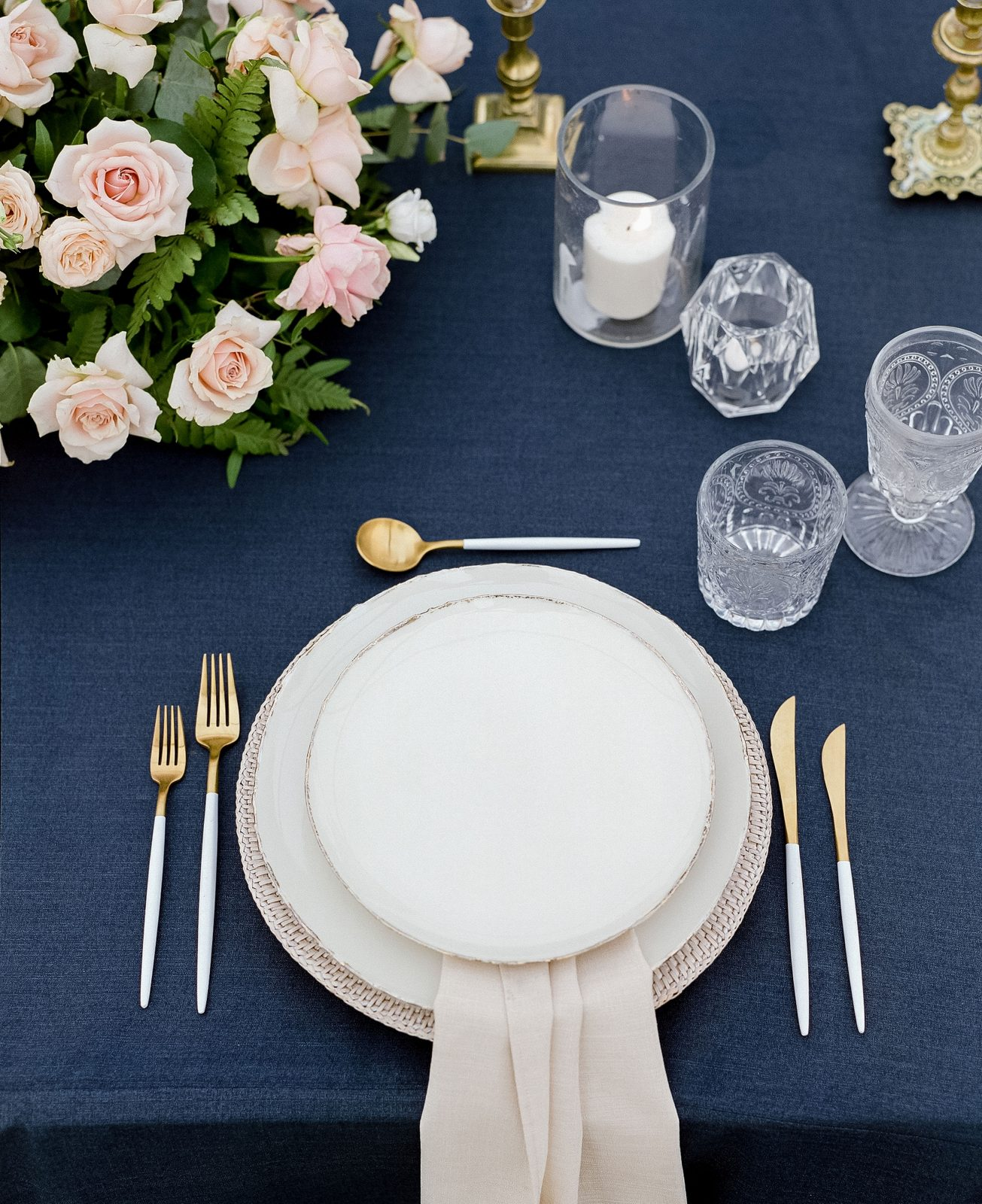 Tableware inspiration for wedding set up