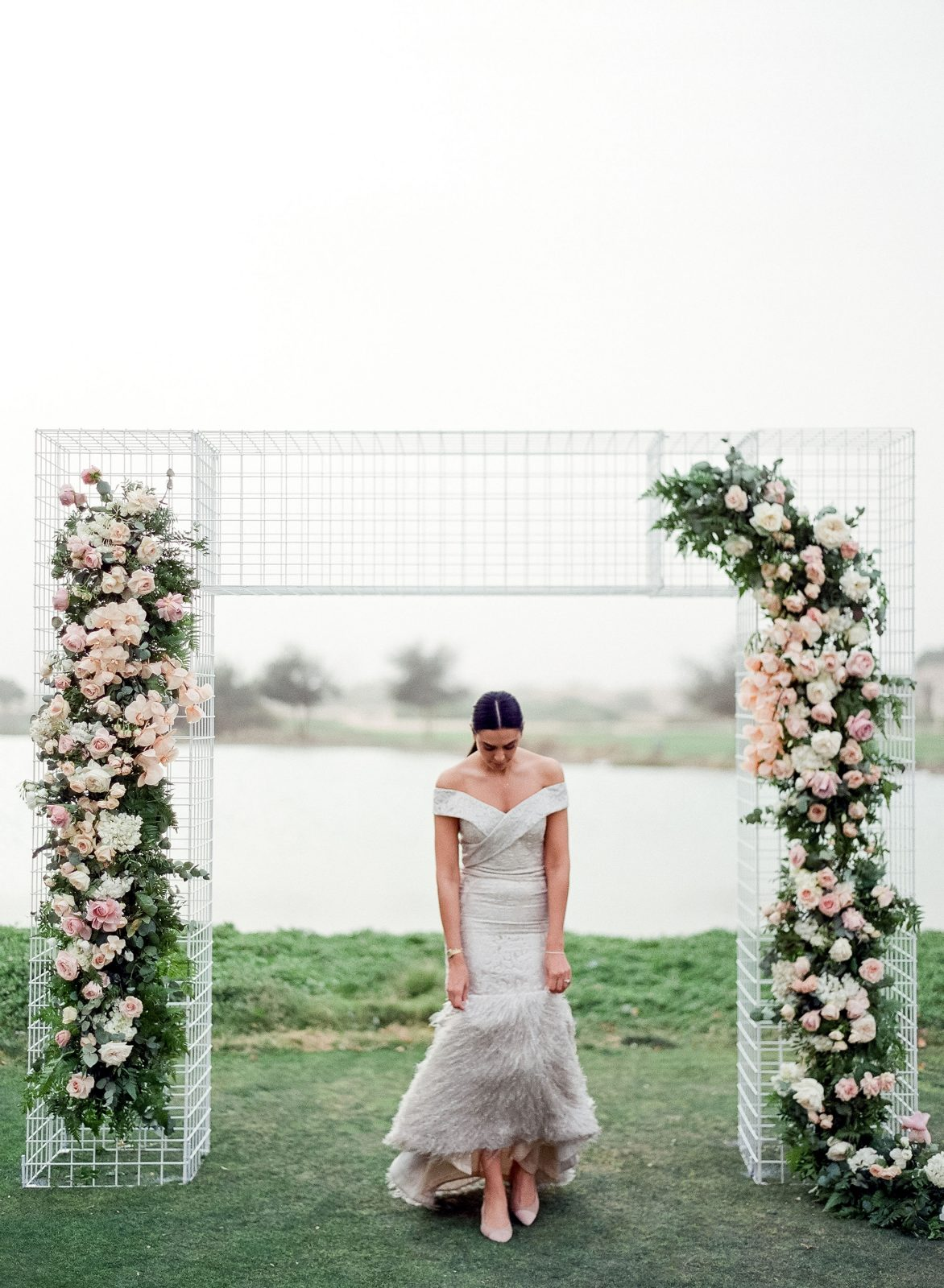 Bride and blessing arch inspiration