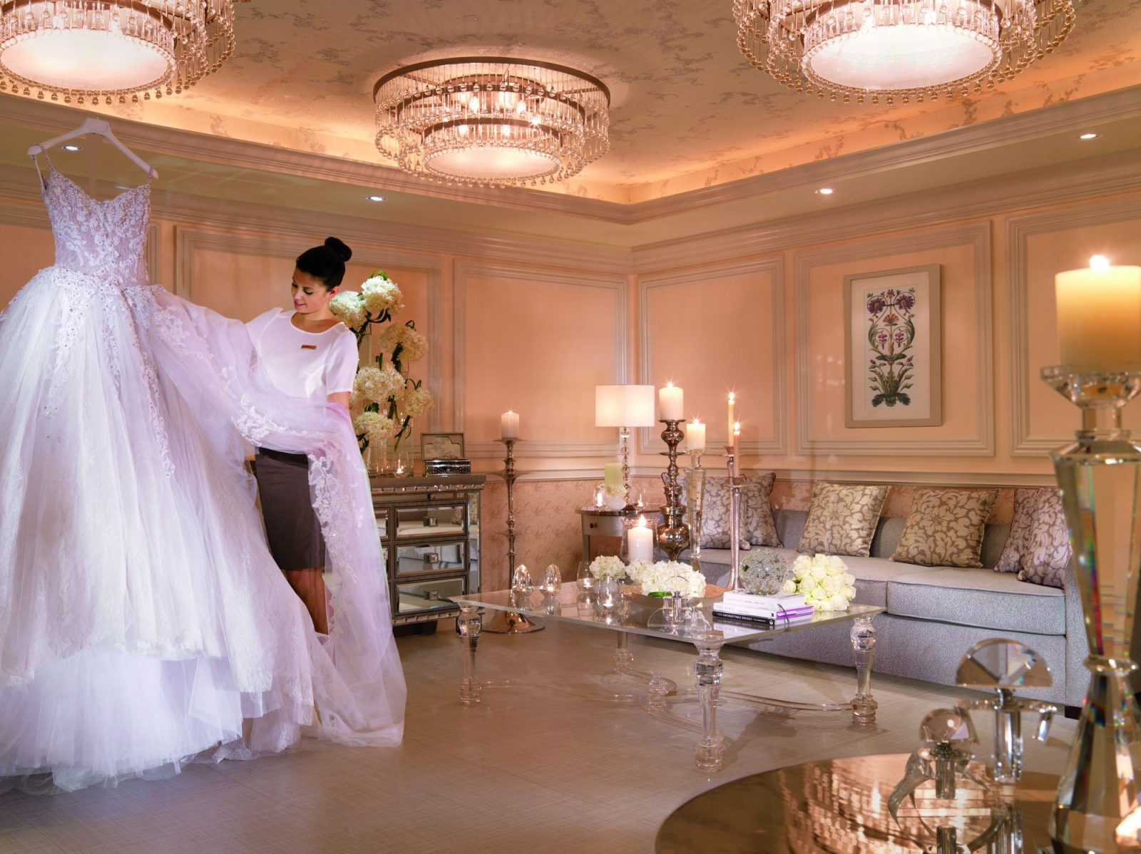 Wedding suite at Ritz-Carlton Abu Dhabi