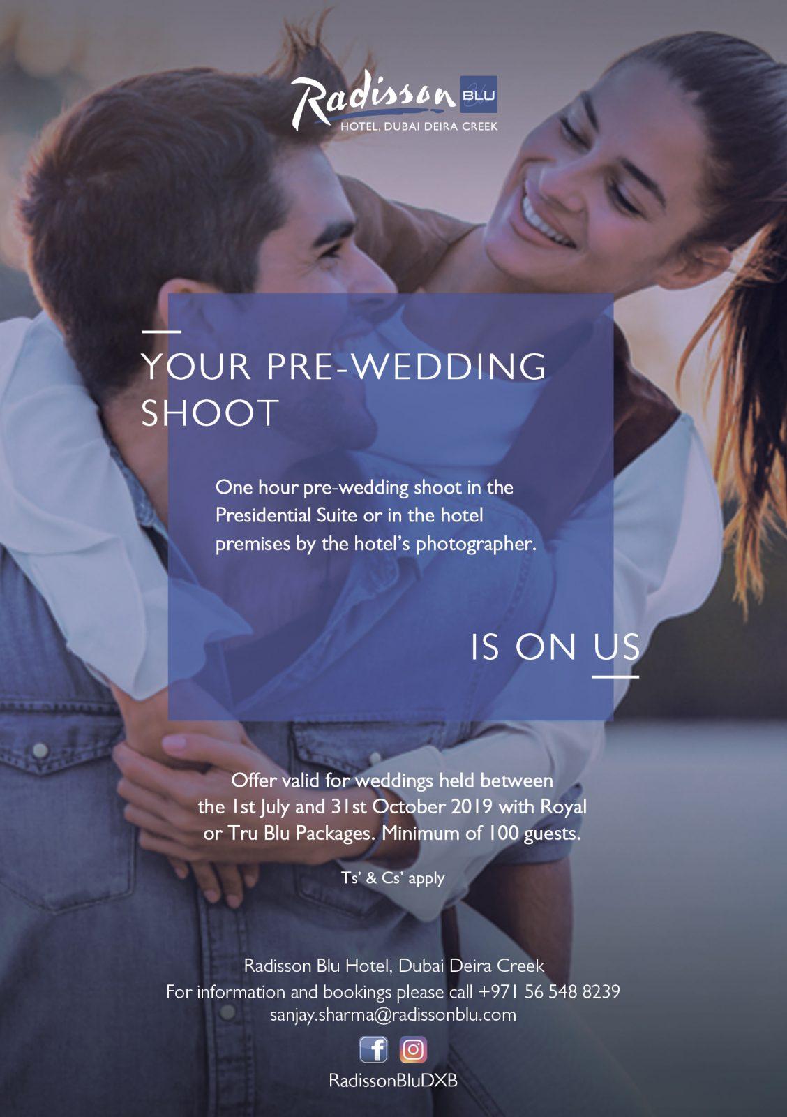 Radisson Blu Deira Creek Pre-Wedding Shoot