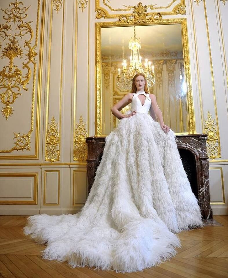Alin Le' Kal Wedding Dress Inspiration