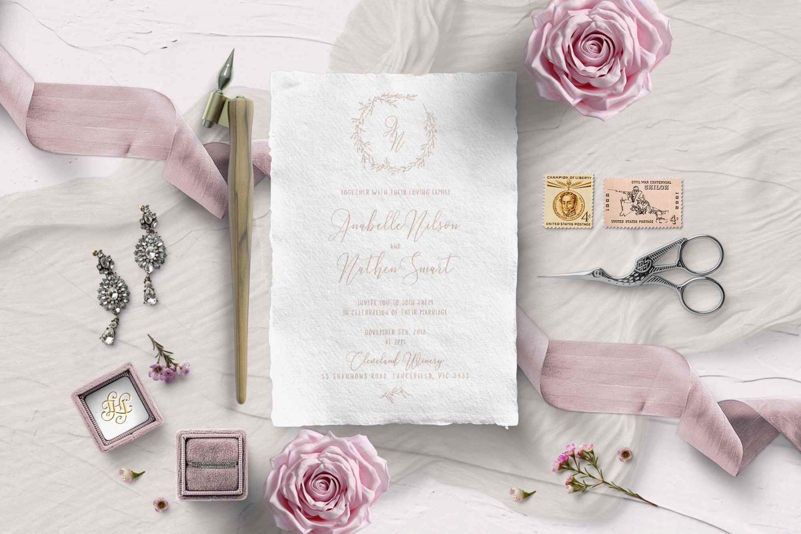 Giant Invitations Wedding Invite Inspiration