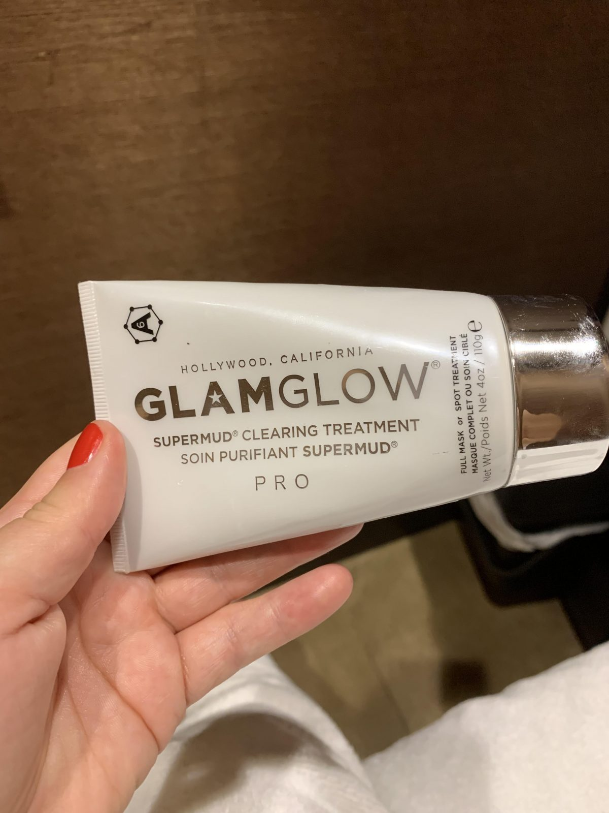 Tips & Toes GlamGlow Facial Product