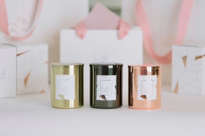 Lava Candles signature collection