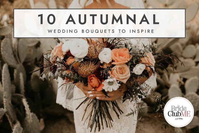10 Autumnal wedding bouquets to inspire