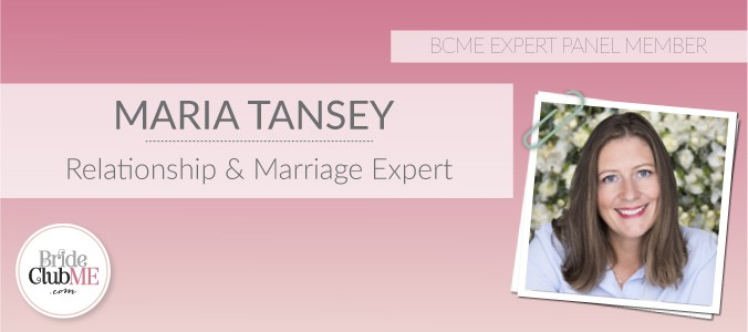 Maria Tansey, BCME Relationship & Marriage Expert