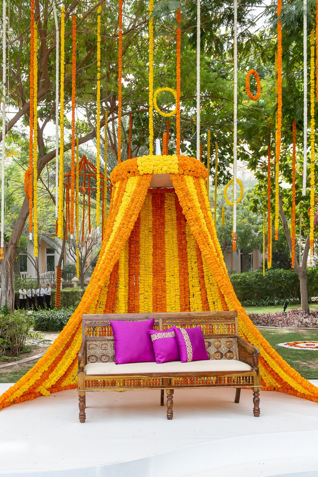 Event Chic Designs Indian wedding set up