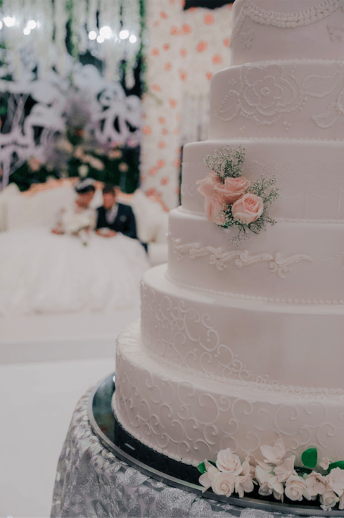 Le Meridien Dubai wedding cake