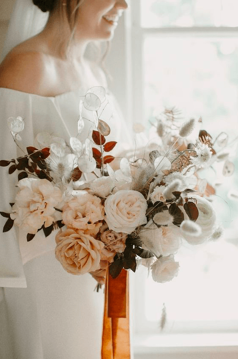 Rustic Autumnal wedding bouquet