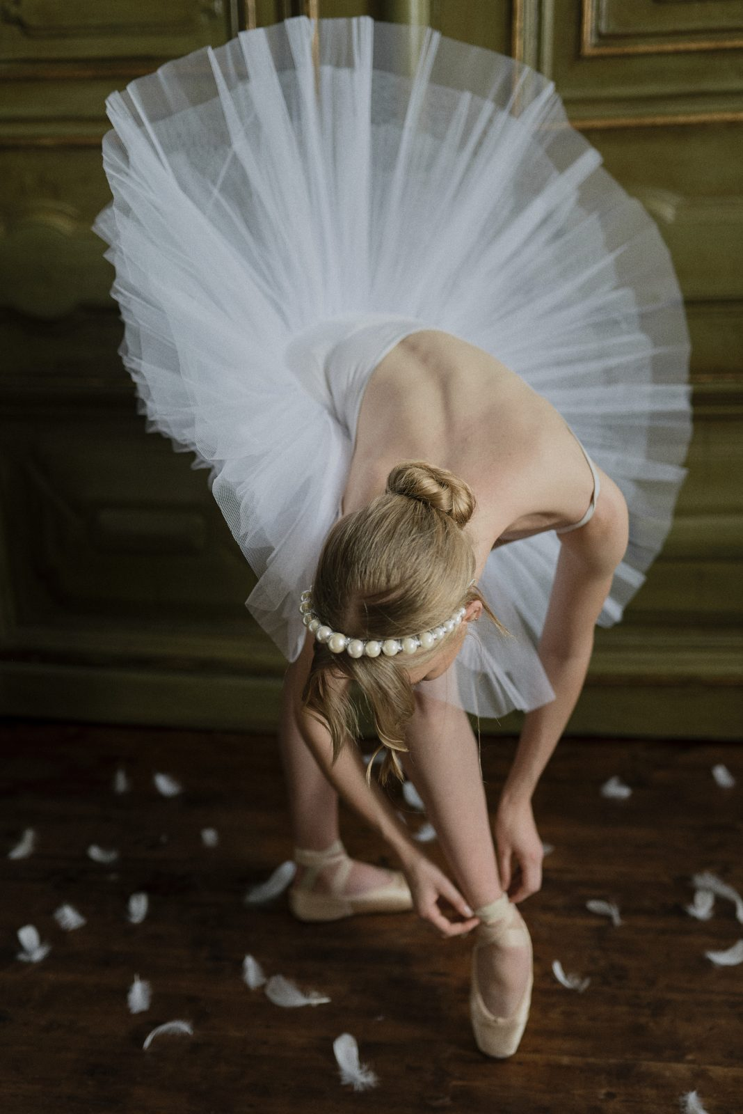 Swan Lake inspired bride