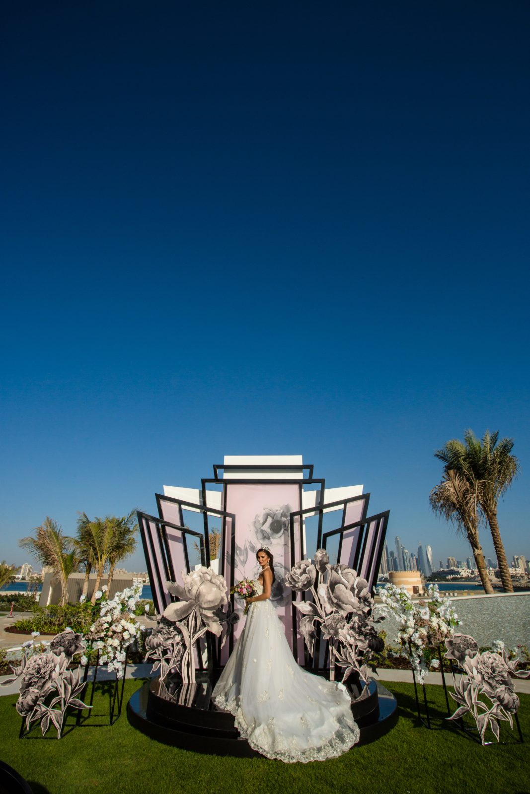 W Dubai The Palm summer wedding