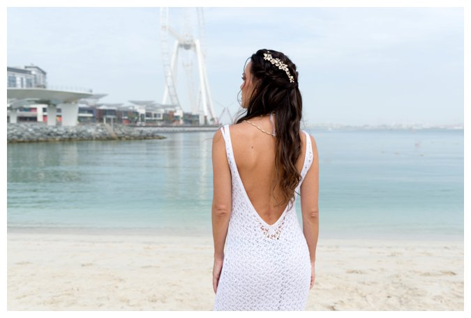 Quite Quaint Brides beach bride