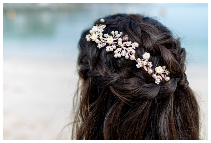 Quite Quaint Brides bridal hair pieces