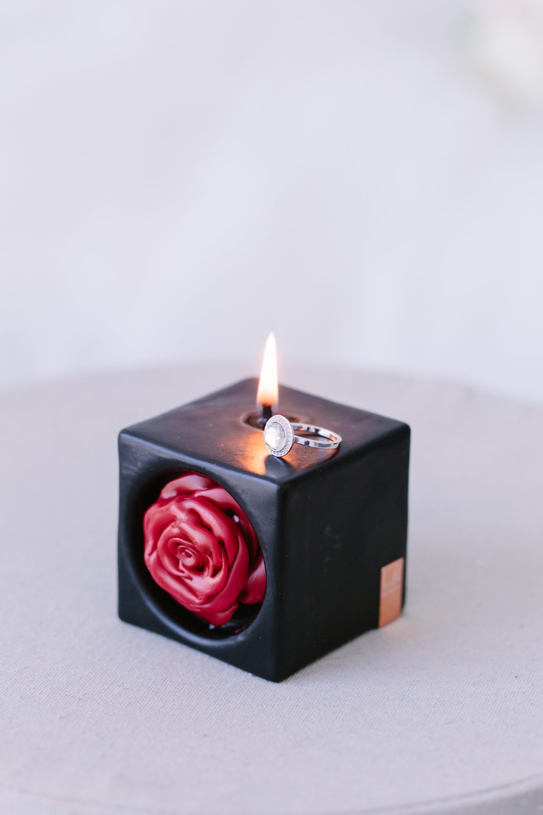 Lava Candles Wedding collection