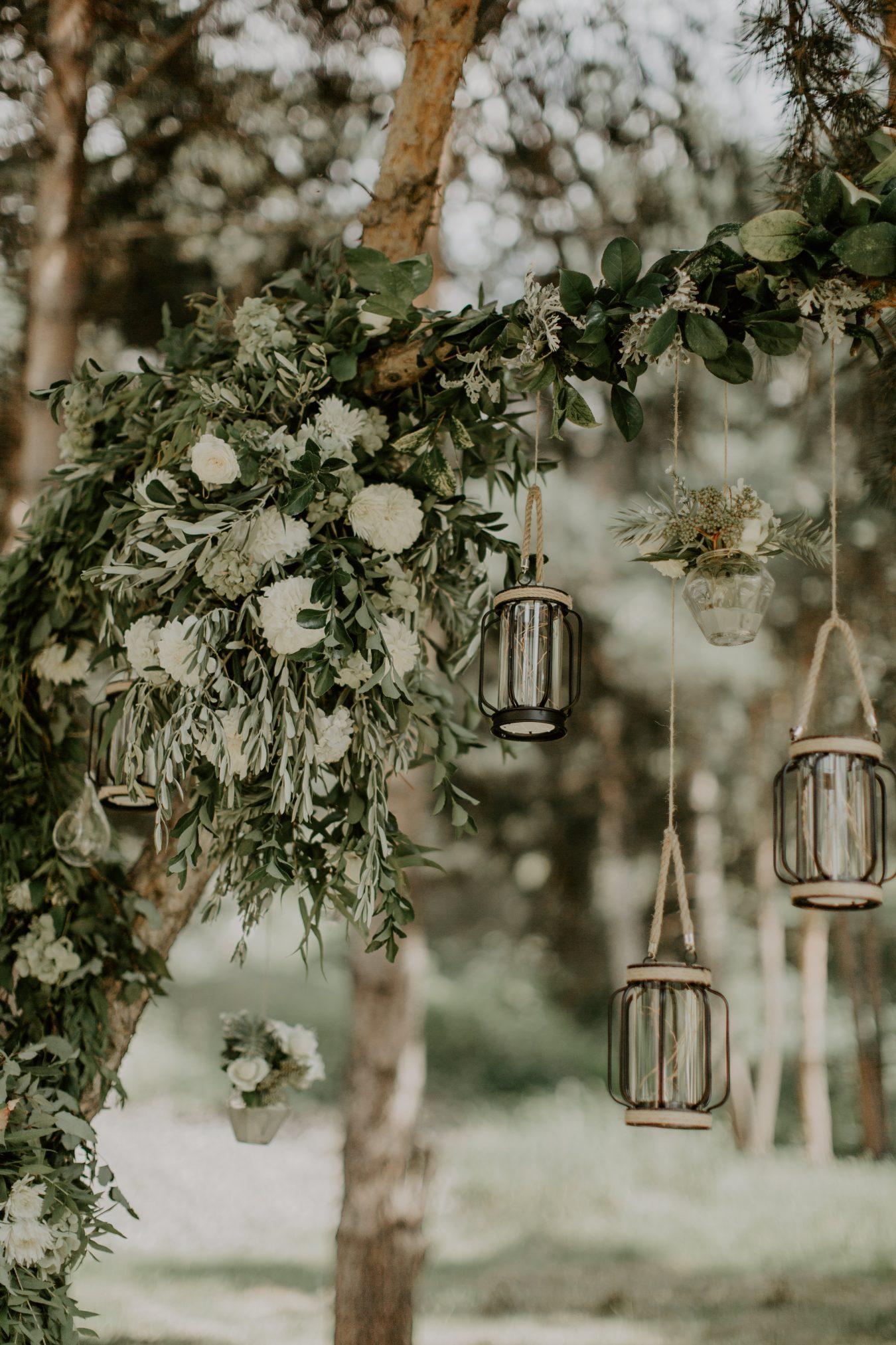 Real Bride Khatia's wedding reception in Georgia