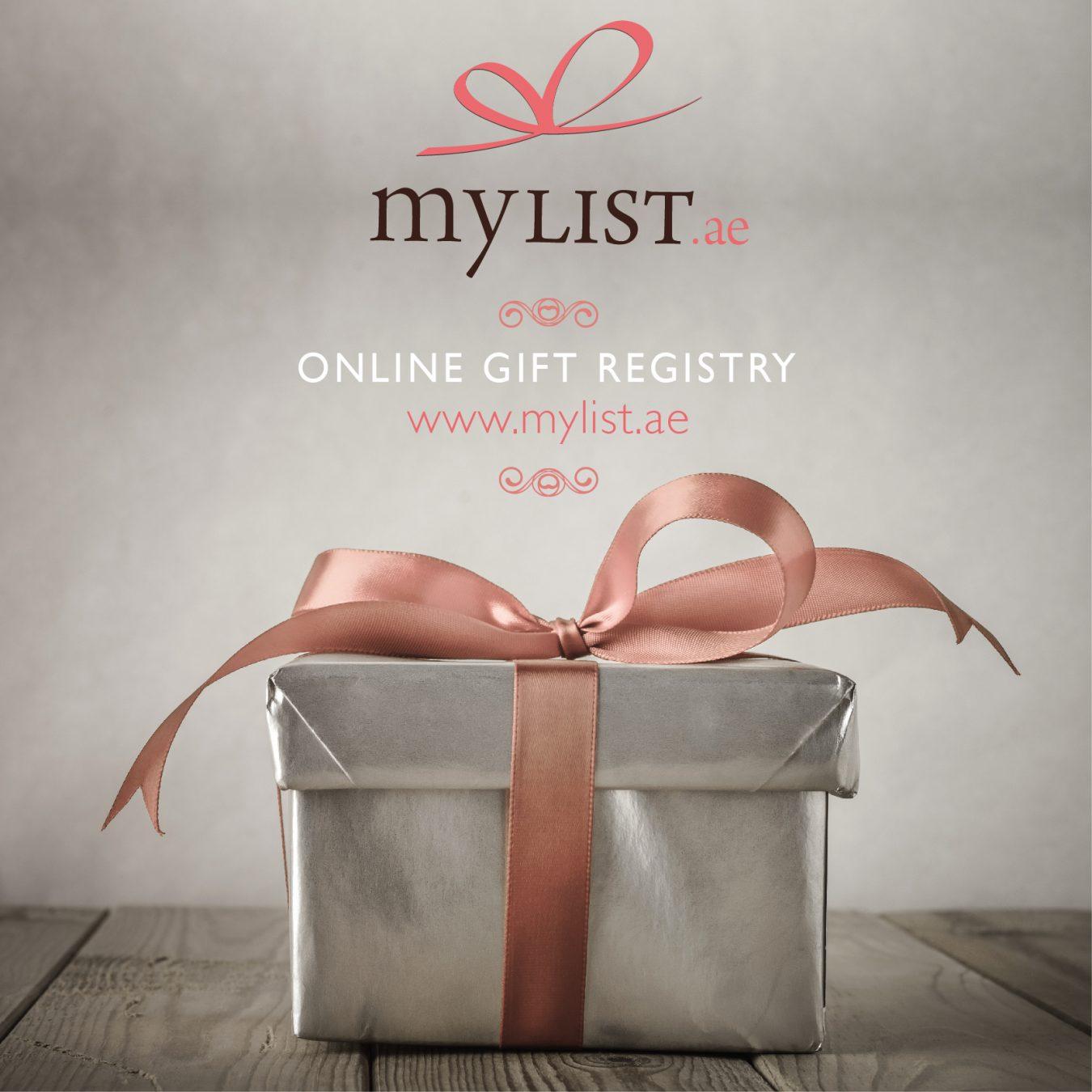mylist.ae online gift registry