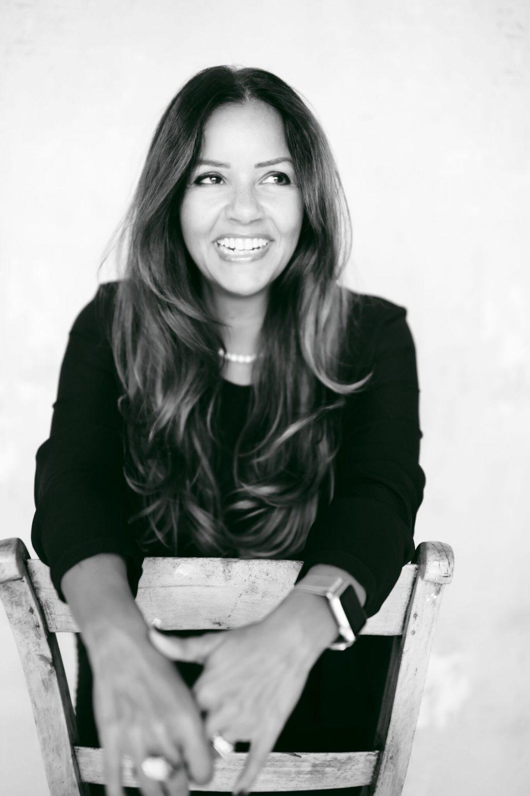 The Organic Glow Beauty Lounge's Founder Leena Al Abbas