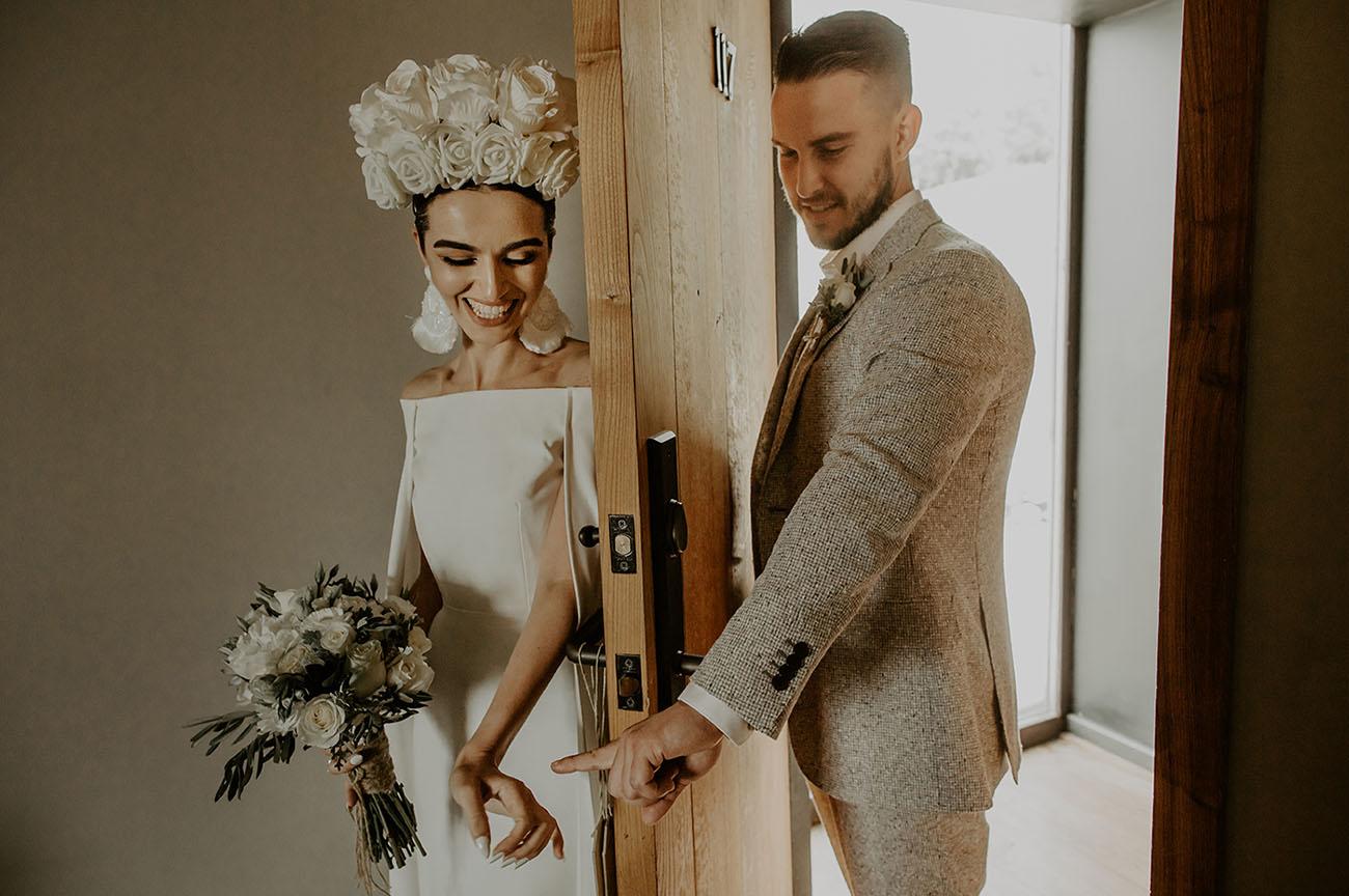 Real Bride Khatia & Husband Andrew