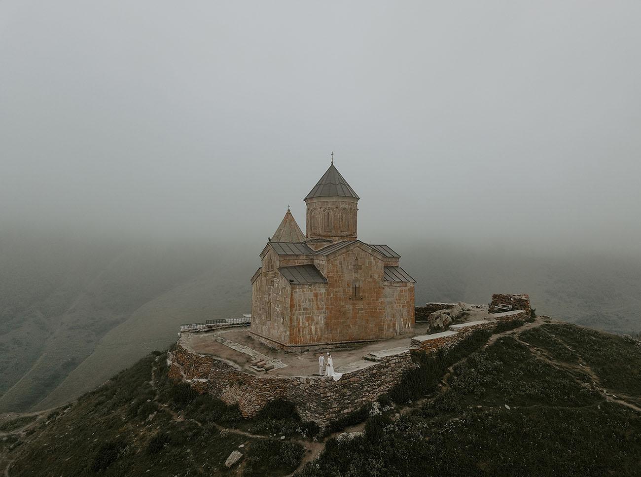 Gergeti Church in Georgia