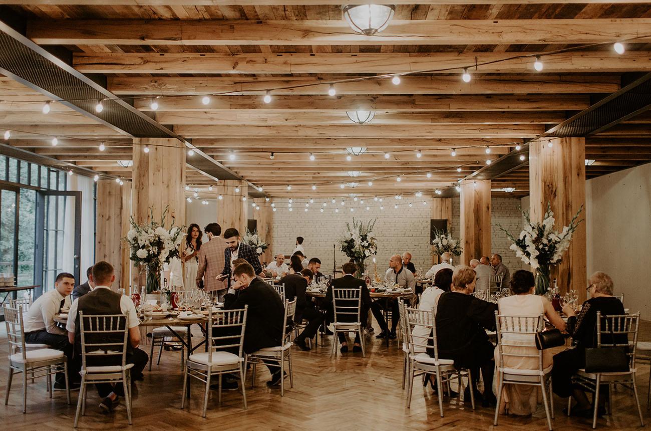 Khatia wedding reception in Georgia