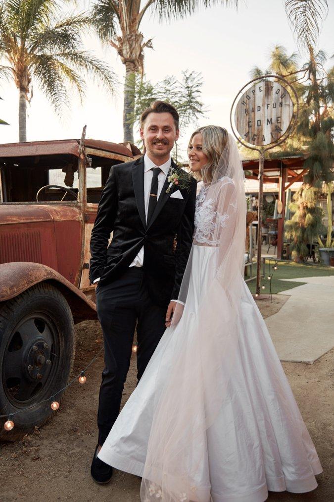 Fil & Hanna wedding portrait shot