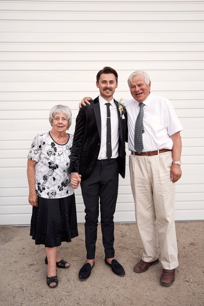Fil with Grandparents