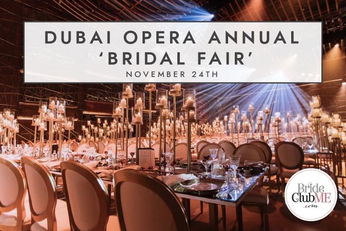Dubai Opera Annual Bridal Fair