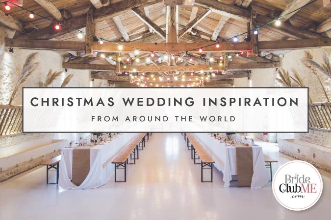 Christmas Wedding Inspiration From Around The World