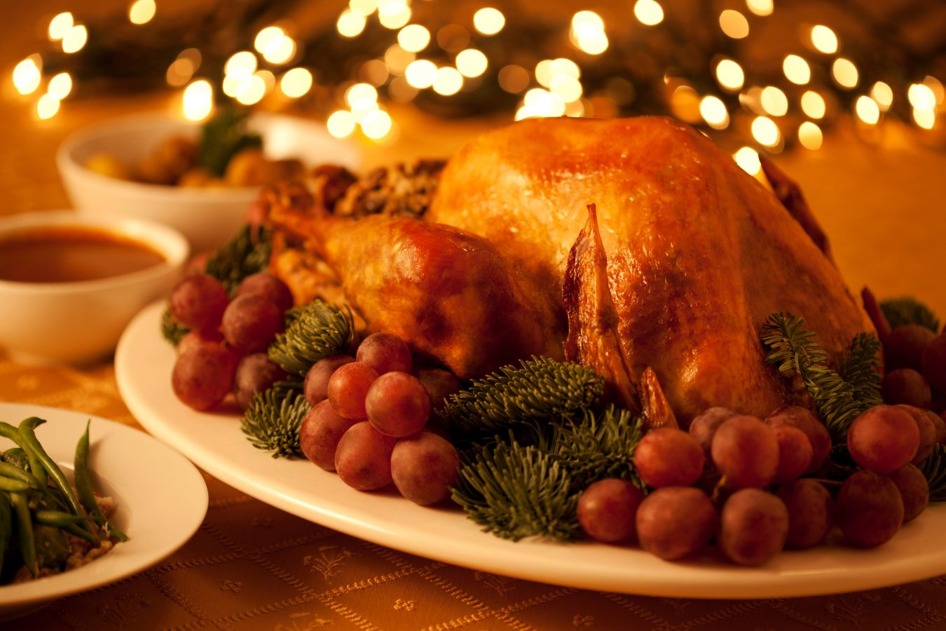 Delicious Christmas Turkey from Meliã Desert Palm Dubai