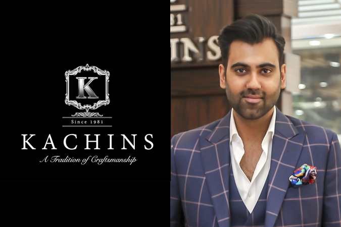 Above right: Anil Ramchandani, the Business Development Manager and the son of the owner of Kachins.