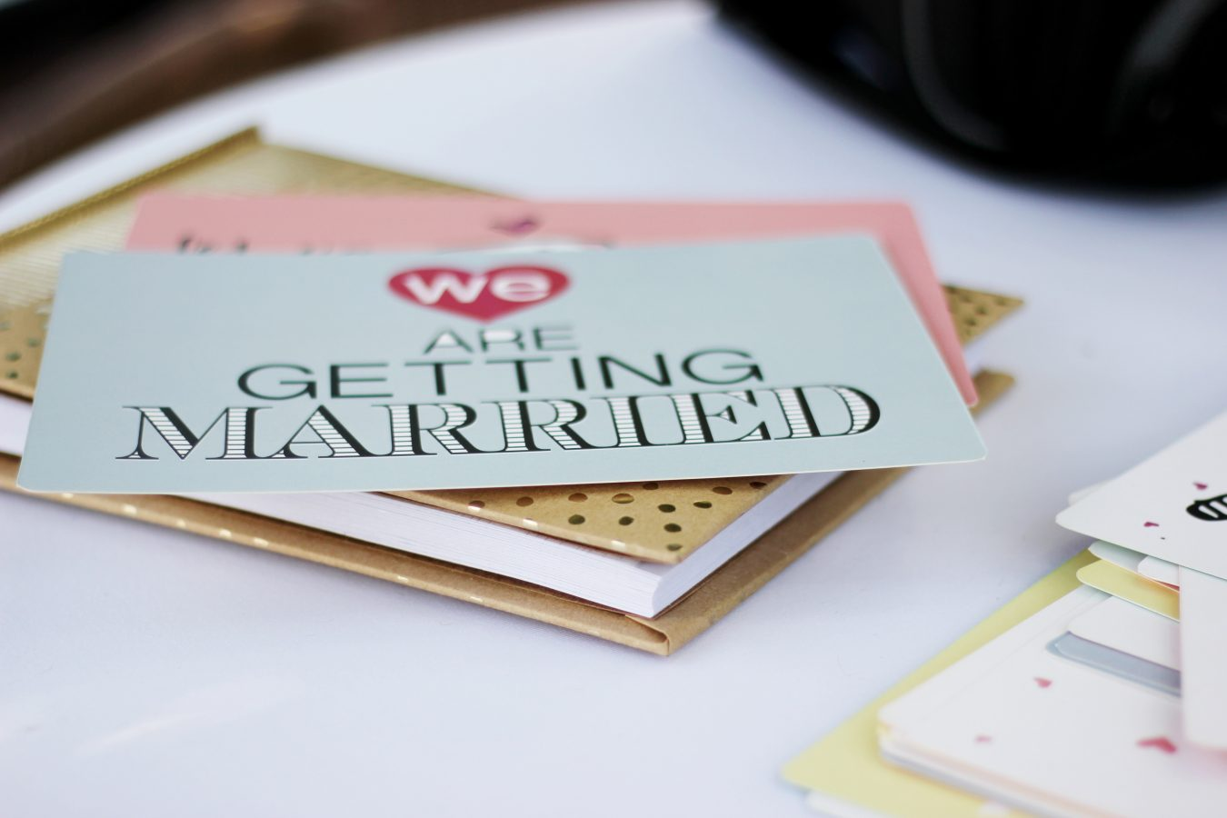 We Are Getting Married stationary