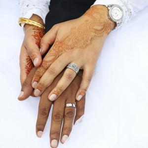 A wedding couple photo taken by Press Play