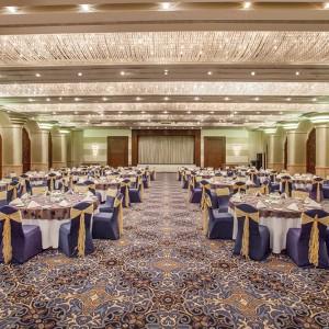 A Ballroom venue at the Crowne Plaza Deira