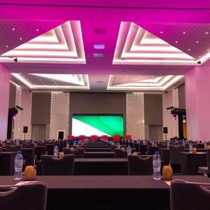 A wedding venue at Radisson Red DSO