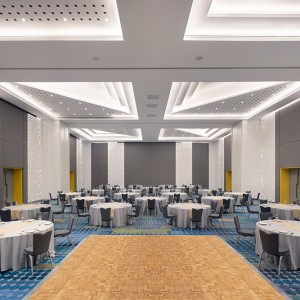 Hotel space for wedding at Radisson Red